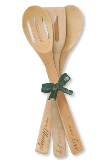BAMBOO SPOON SET OF 3