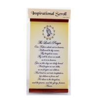 INSPIRATIONAL SCROLL THE LORDS PRAYER
