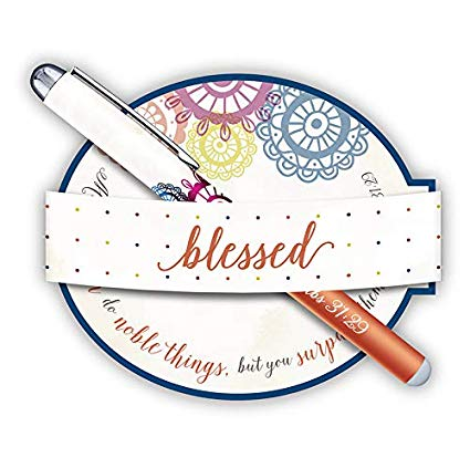 GIFT PEN AND NOTEPAD- BLESSED