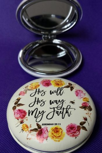 COMPACT MIRROR: HIS WILL
