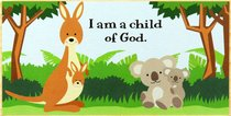 PLAQUE:I AM A CHILD OF GOD