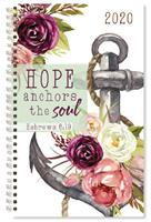 2020 PLANNER:HOPE ANCHORS THE SOUL