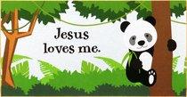 PLAQUE:JESUS LOVES ME