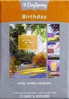 BOXED CARDS: BIRTHDAY COLOURFUL