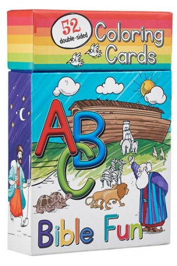 52 COLOURING CARDS:ABC BIBLE FUN