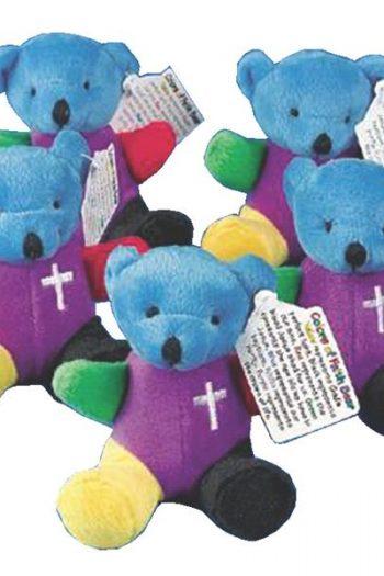 COLOUR OF FAITH PLUSH BEAR