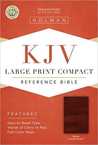 KJV L/P BROWN REF BIBLE