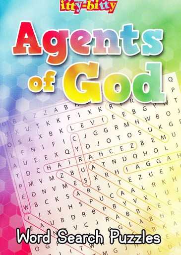 ITTY-BITTY: ACTIVITY BOOK AGENTS OF GOD