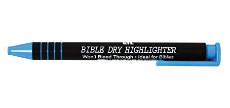 BIBLE DRY HIGHLIGHTER BLUE