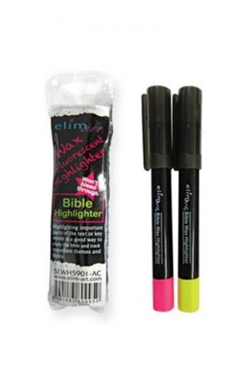 BIBLE HIGHLIGHTER:YELLOW AND PINK