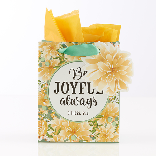GIFT BAG EXTRA SMALL: BE JOYFUL