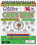 GLITTER CHRISTMAS SCRIPTURE SPRIAL BOUND