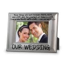 PHOTO FRAME:PEWTER OUR WEDDING