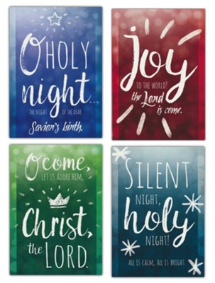 CHRISTMAS BOXED CARDS: LET US ADORE HIM