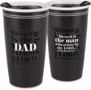 CERAMIC MUG DOUBLE WALL:BLESSED DAD
