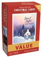C'MAS BOX CARDS: VALUE 48 PK