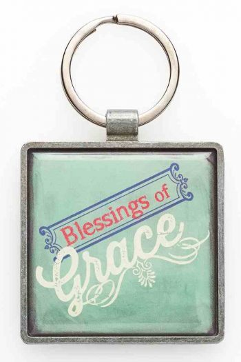 KEYRING, METAL: BLESSINGS OF GRACE