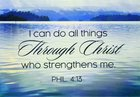 MAGNET WITH MESSAGE: I CAN DO ALL THINGS