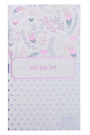 2020 24 MONTH PLANNER: FAITH, HOPE, LOVE