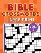 BIBLE CROSSWORDS LARGE PRINT VOL 2