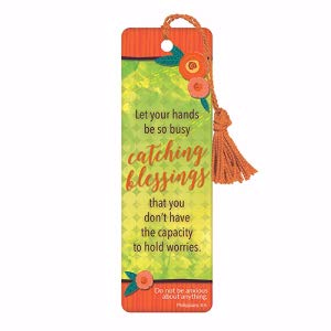 BOOKMARK WITH TASSEL: CATCHING BLESSINGS