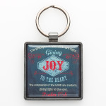 KEYRING: METAL, JOY TO THE HEART