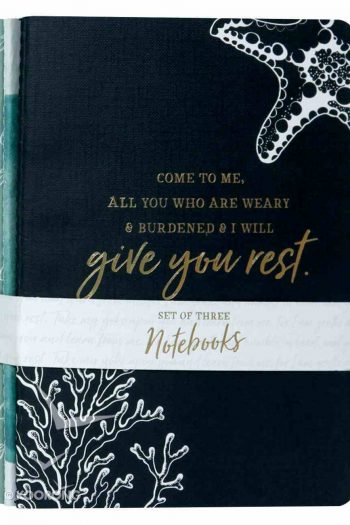 NOTEBOOK SET OF 3:GIVE YOU REST