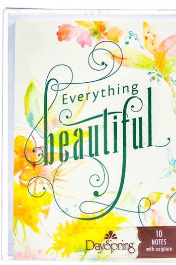 BLANK CARDS PK 10:EVERYTHING BEAUTIFUL