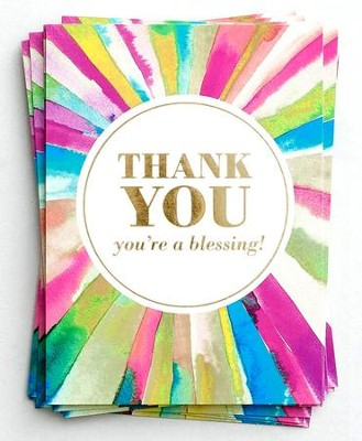 BOXED CARDS PK 10:THANK YOU