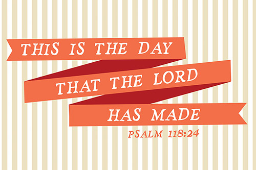 POSTER SMALL: THE LORD HAS MADE